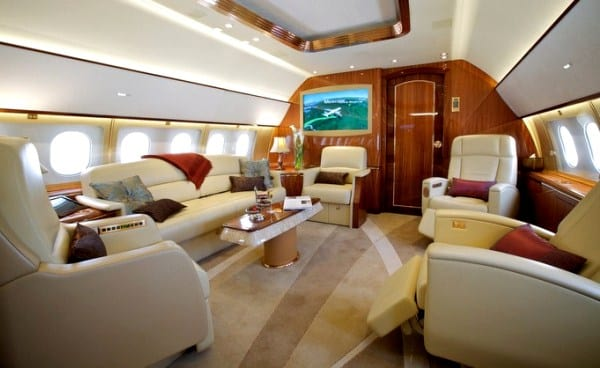 the most luxurious private jet tour in the world