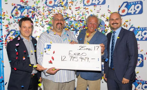 Montreal resident scoops $12.700.000 two days after his birthday
