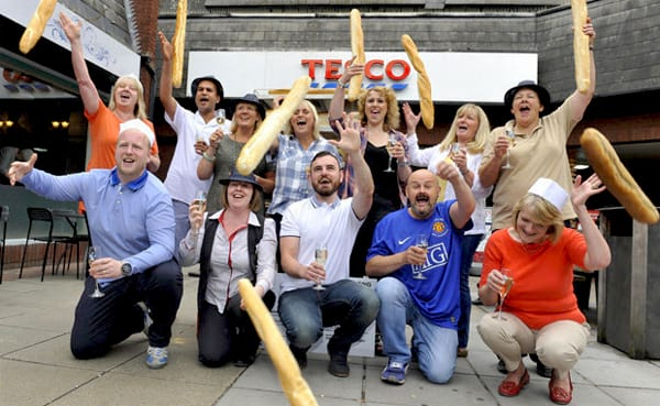 Group of bakers from Chester share a £1.000.000 lottery prize