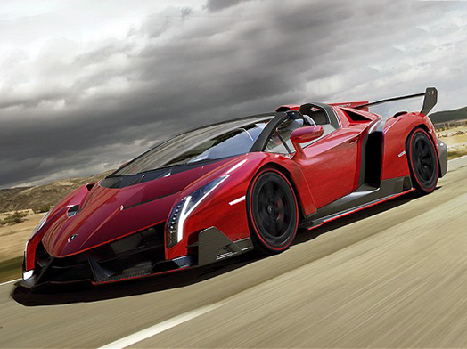 Lamborghini Veneno Roadster €5,700,000