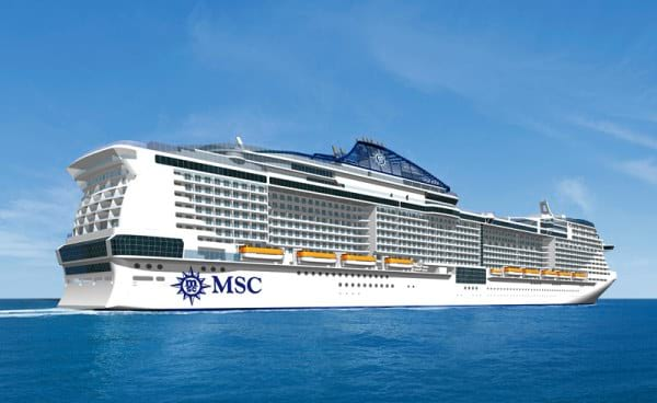 MSC Cruises launches Meraviglia, this year_s largest cruise ship