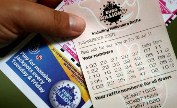 Euromillions jackpot won by one lucky Briton