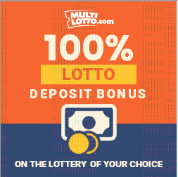 multilotto lotto deposit bonus 100 percent