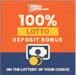 multilotto lotto deposit bonus 100 percent