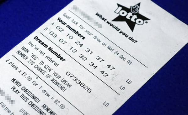 The UK's Lotto produces a £12.800.000 jackpot winner