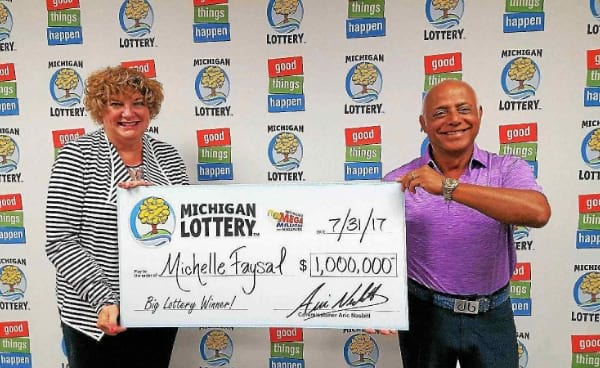 Canadian woman wins $1.000.000 during her vacation in the US