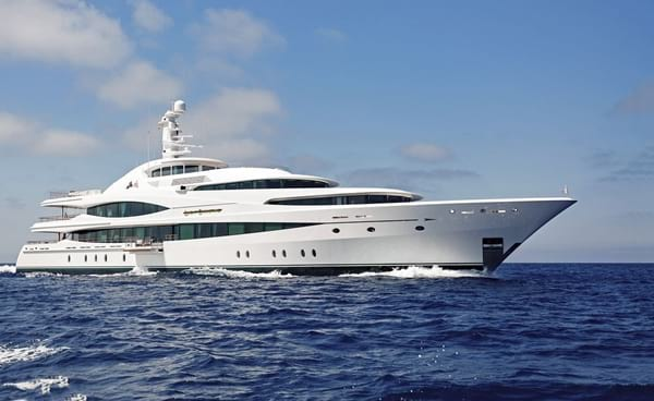 Lady Christine - £48.000.000 superyacht worthy of a king