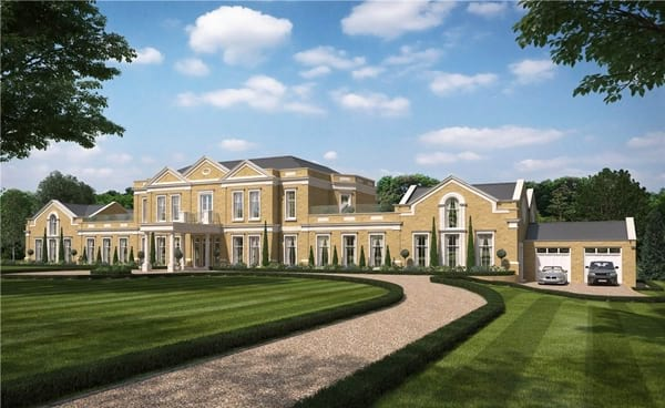 Opulent countryside estate Spats Lane is on the market for £12.000.000