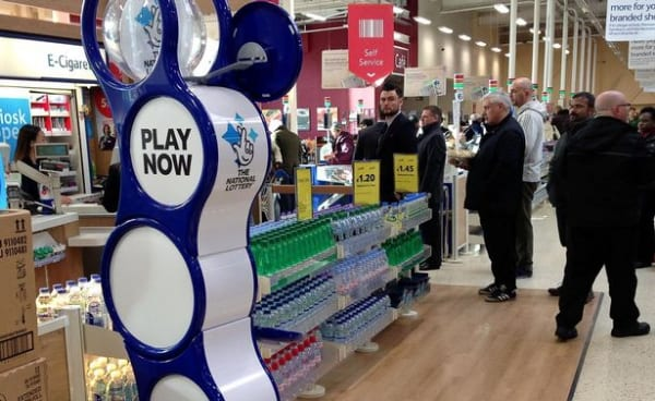 Lottery officials criticized for giving too much money to Scottish charities