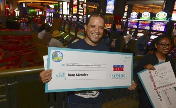 Manhattan couple snatches $4.700.000 thanks to their Friday night lottery ritual