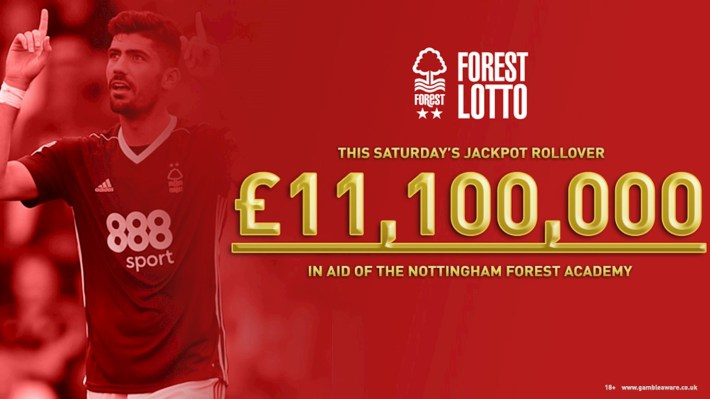 Win £11.1million with Forest Lotto