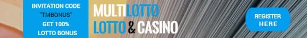 multilotto deposit bonus to lotto and invitation code