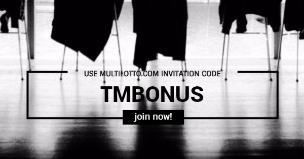 Use Multilotto Invitation Code TMBONUS Backround Cover photo