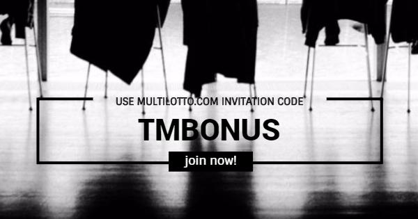 Use Multilotto Invitation Code TMBONUS Backround Cover photo