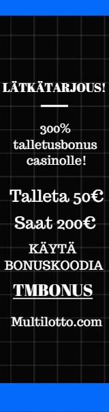 Multilotto Bonuskoodi Casinolle