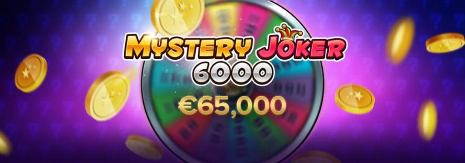 Player Wins €65,000 On New Mystery Joker 6000 Slot