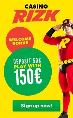 Rizk Casino Deposit Bonus Code