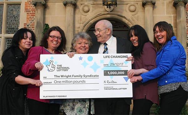 Staffordshire man hides a £1.000.000 winning ticket in his wife_s underwear drawer