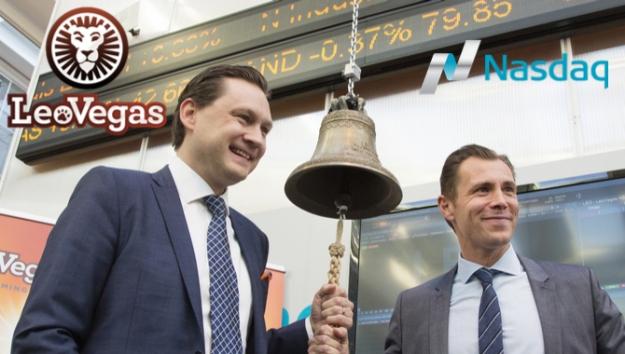 LeoVegas receives Nasdaq Stockholm listing