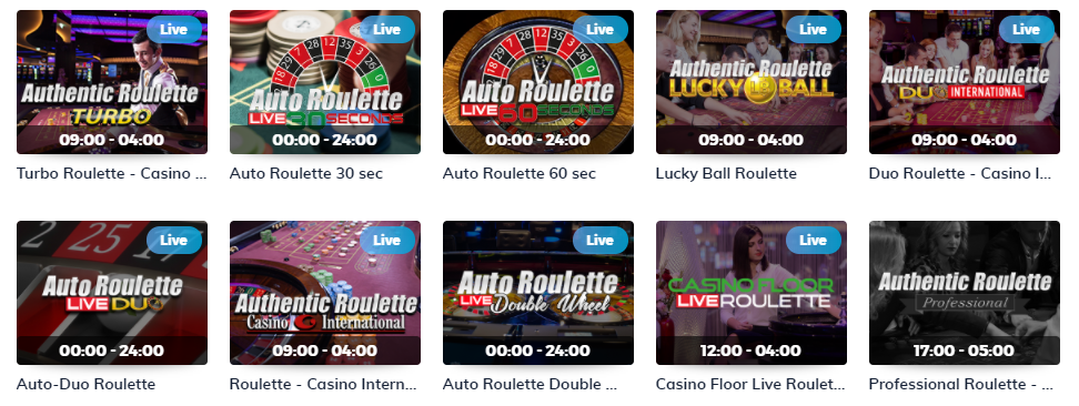 Multilotto Casino Live Roulette Games
