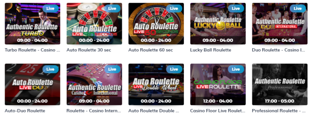 Multilotto Casino Live Roulette Games