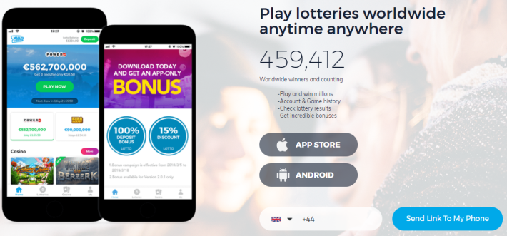 Play Lotteries Worldwide Anywhere Anyplace - Multilotto App