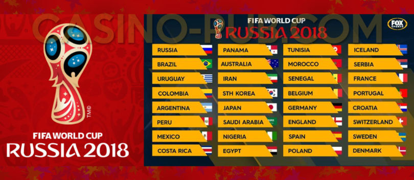 Best Casino Offers and Promotions, FIFA World Cup 2018