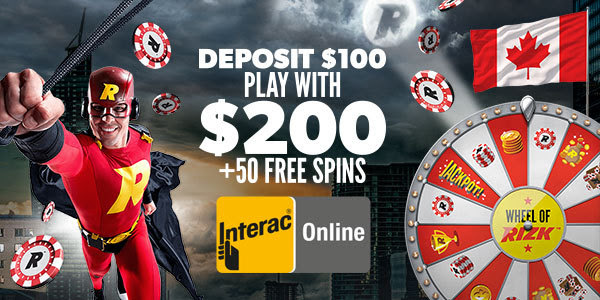 Interac Now Available for Canadians At Rizk Casino