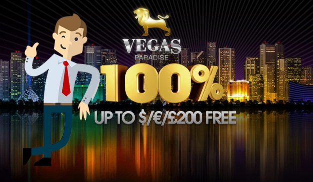 5 No Deposit Free Spins to Warlords at Vegas Paradise Casino