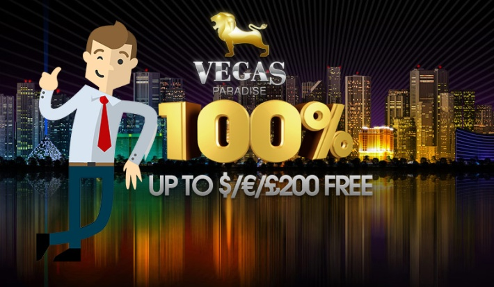 5 No Deposit Free Spins to Warlords at Vegas Paradise Casino