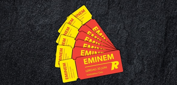 Alert to Norwegians! Win Eminem Tickets in Oslo