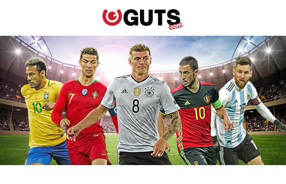 Guts.com - 200% vedonlyöntibonus 50€ asti