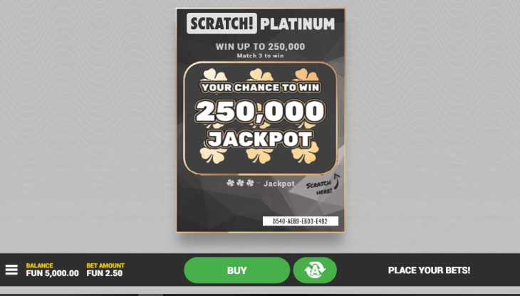 New at Multilotto - Scratchcards at Casino