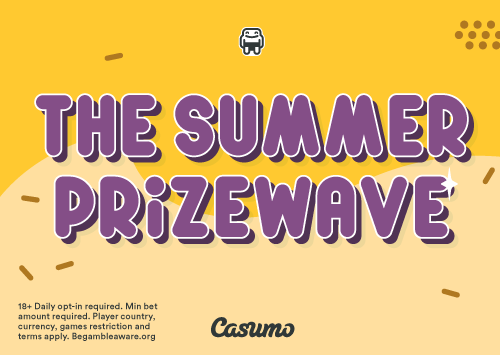 The Summer Prizewave at Casumo Casino