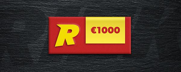 Voita 1 000 euron Verkkokauppa.com-lahjakortti