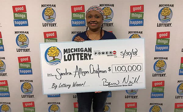 Winning a $100.000 Powerball prize feels like hitting a reset button