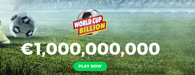 World Cup 2018 Lottery - Win One Billion Euros