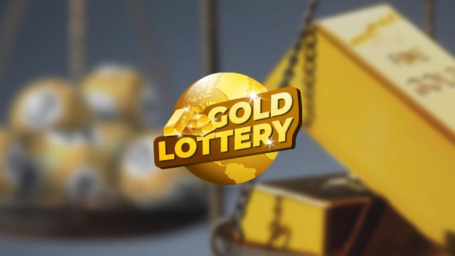 Daily chance to bag 10 kg of gold